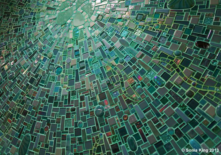 Aquasphere Sonia King Mosaic Artist
