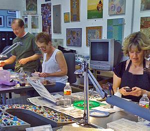 Sonia's Creative Arts Center Mosaic Class