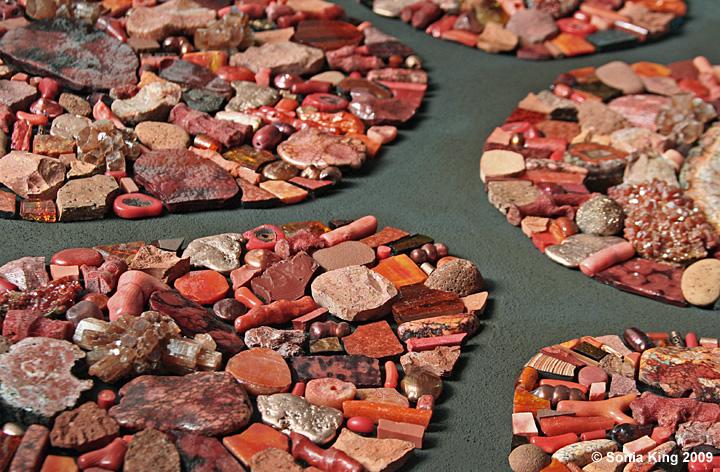 Outlier mosaic (detail) by Sonia King Mosaic Artist