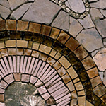 Vertigo mosaic by Sonia King Mosaic Artist