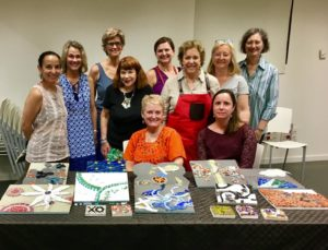 Mosaic Workshop in Barcelona with Sonia King Mosaic Artist